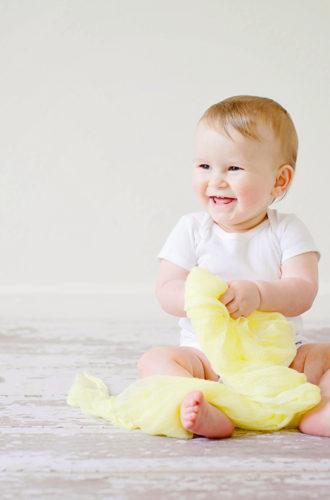 Le végétalisme et les bébés