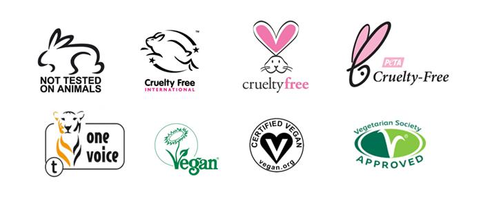 Logos cruelty-free