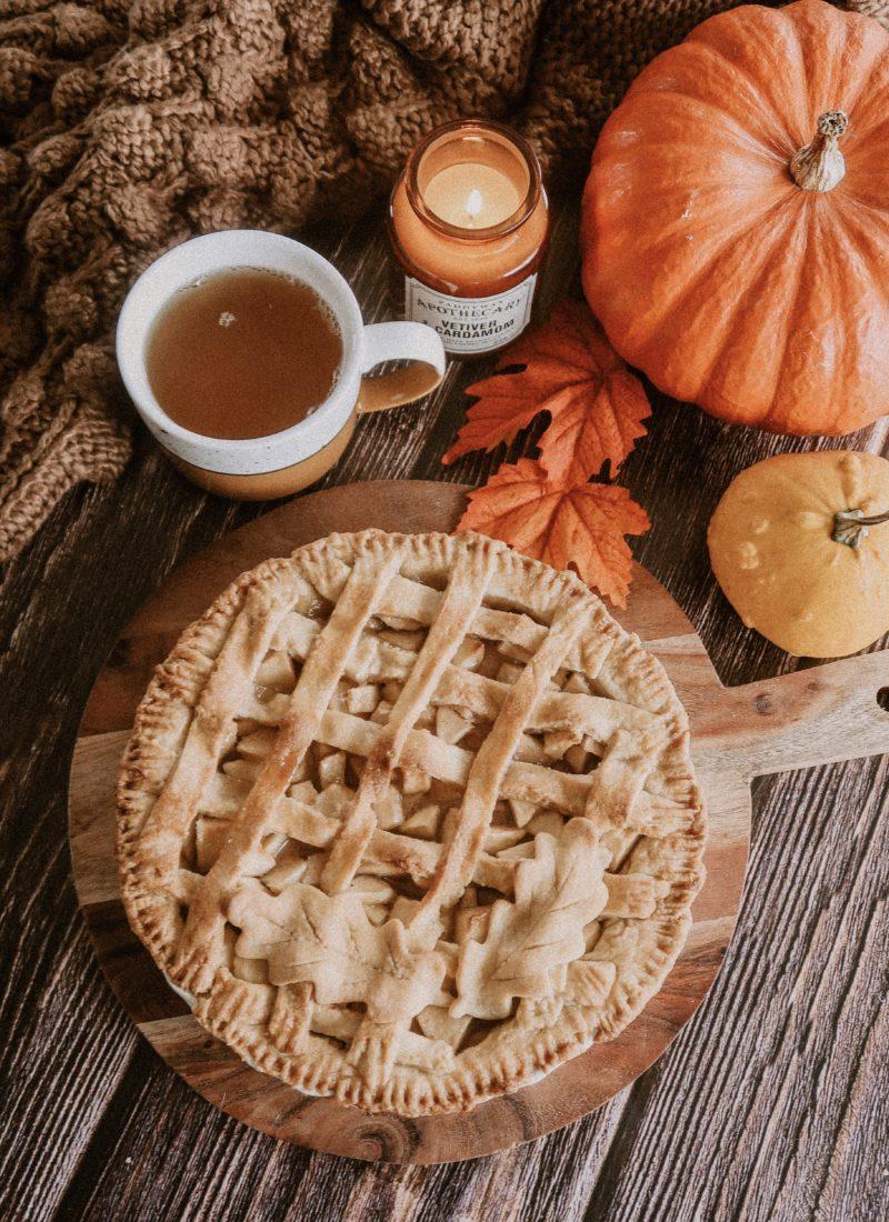 Recette de ma tarte aux pommes à l'américaine vegan
