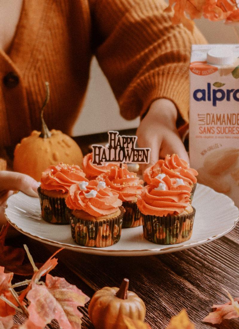 Recette de cupcakes vegan façon «pumpkin pie»