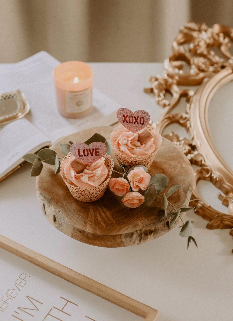 Recette de cupcakes vegan spéciale Saint-Valentin