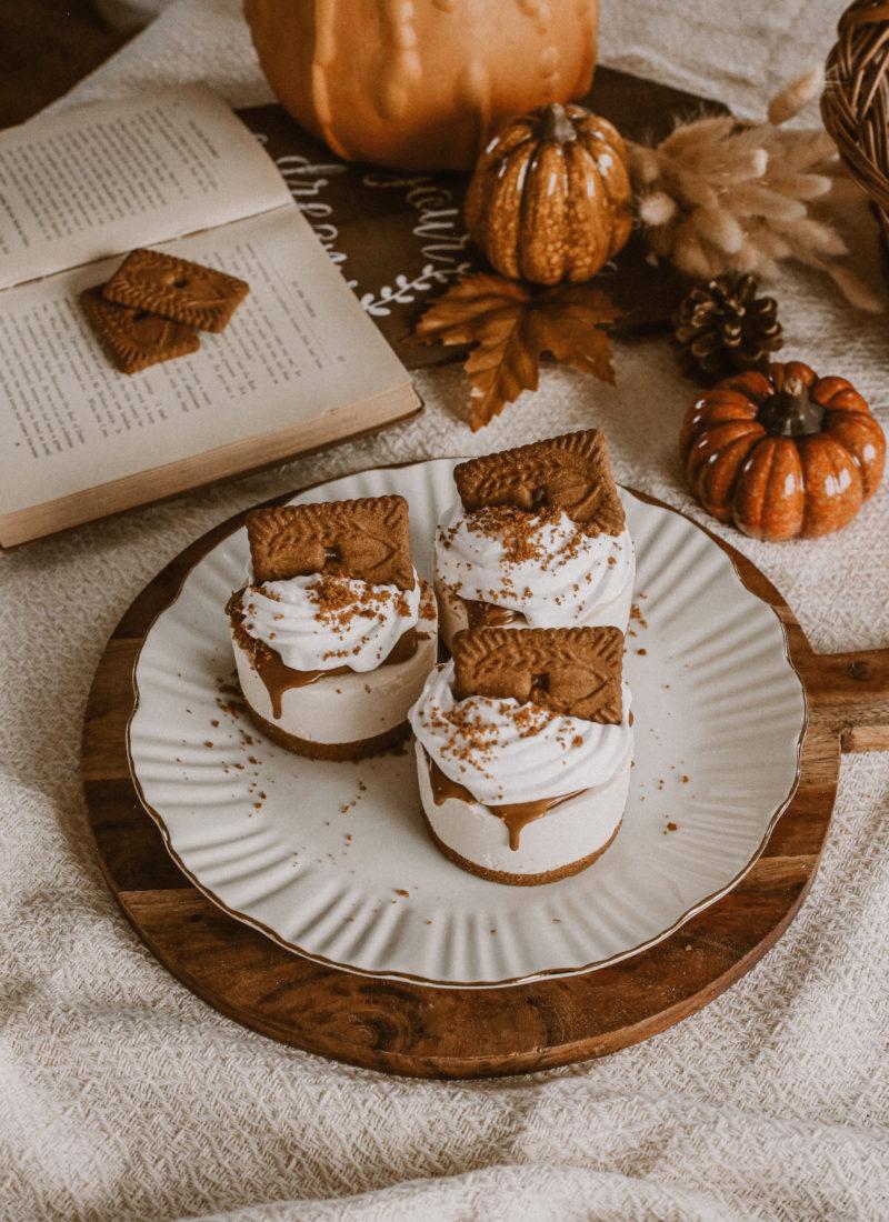 Recette de mini cheesecakes vegan aux Spéculos